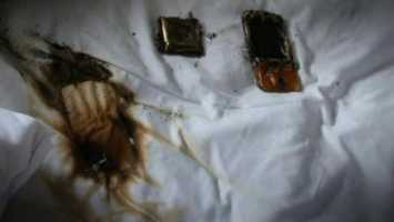 Cell Phone Overheats, Catches Fire Under Pillow