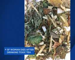 Toxic Herbal tea causes critcal illness and death in San Francisco Chinatown